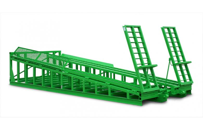 Wastequip Roll-Off Truck Ramp