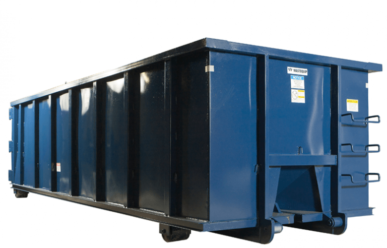 Wastequip Rectangular Open Top Roll Off Dumpsters
