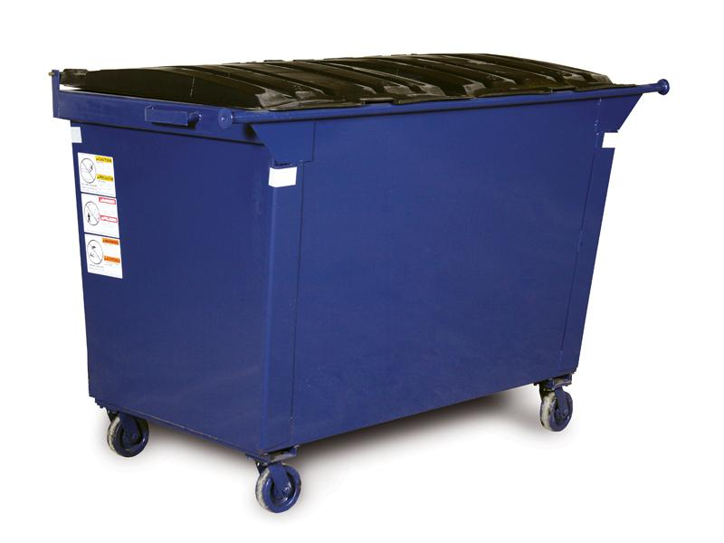 Wastequip Standard Rear Load Dumpsters with Caster Wheels