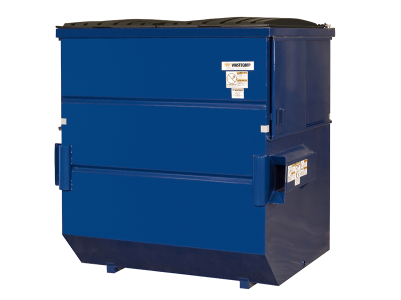 Wastequip Steel Front End Load Dumpsters (FELs)